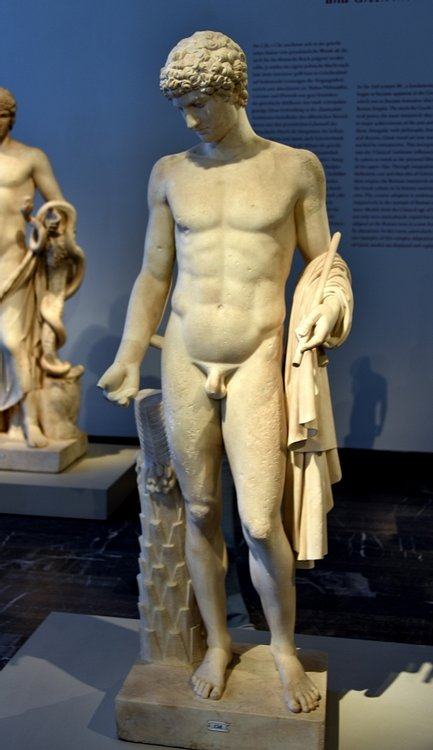 Antinous as Omphalos Apollo