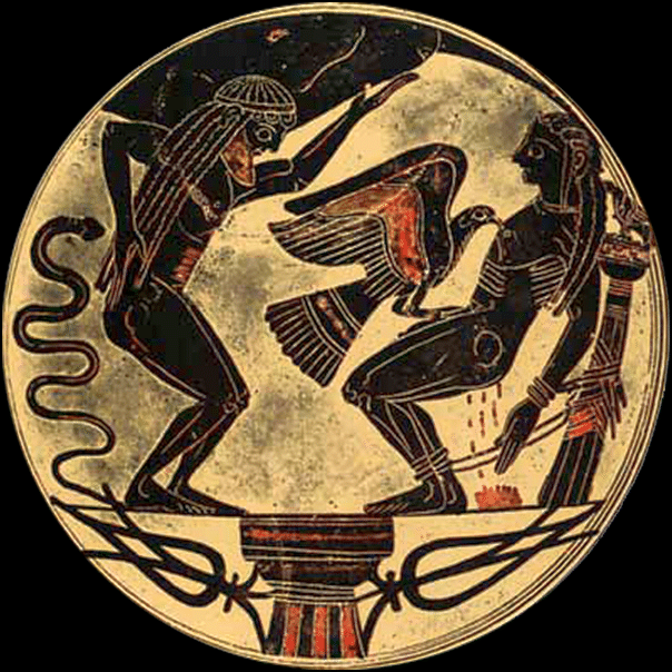 Prometheus Atlas Illustration Ancient History Encyclopedia