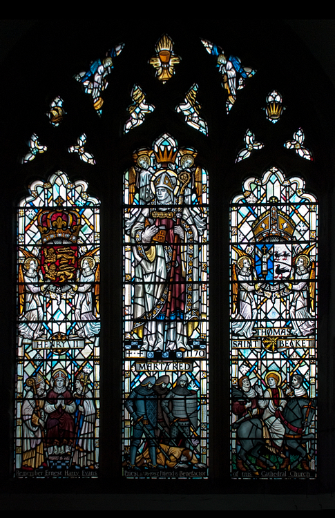 Henry II of England & Thomas Becket, St. David's