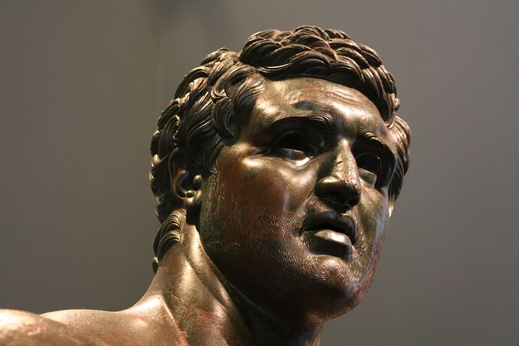 The Hellenistic Prince (Detail) ()