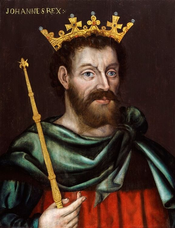 King John of England