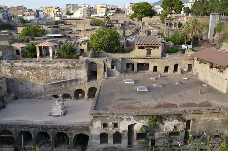 View of the Suburban District of Herculaneum