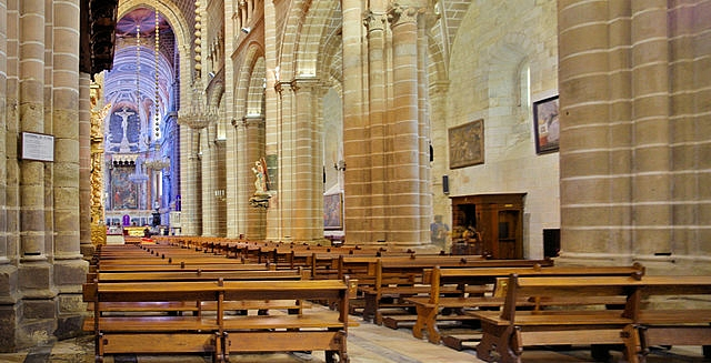 Interior of Evora Cathedral