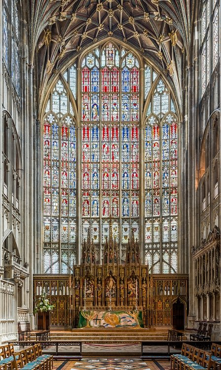 Crécy Window, Gloucester Cathedral
