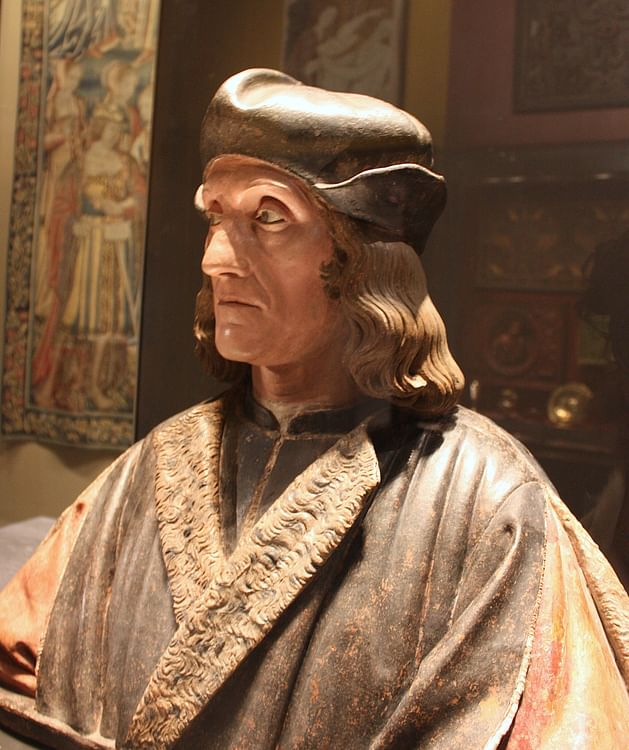 Bust of Henry VII of England