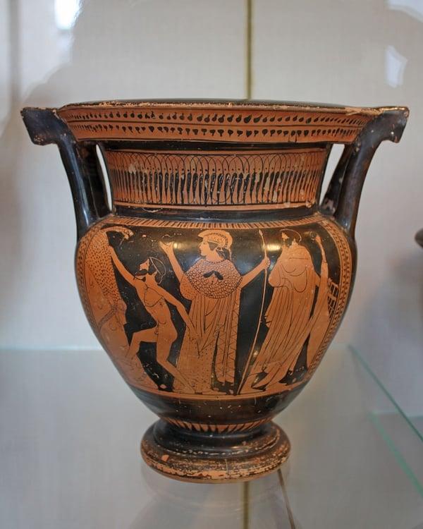 Greek Vases Names Shapes And Functions Ancient History Encyclopedia