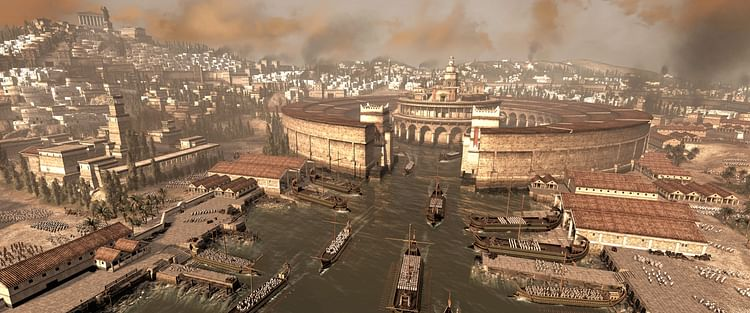 Carthage e seu porto (The Creative Assembly)
