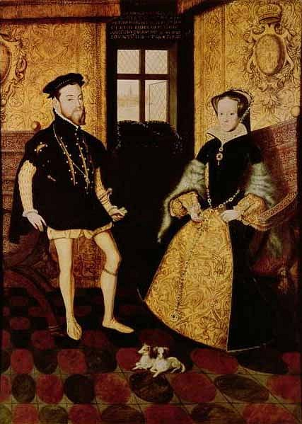 Philip II of Spain & Mary I of England