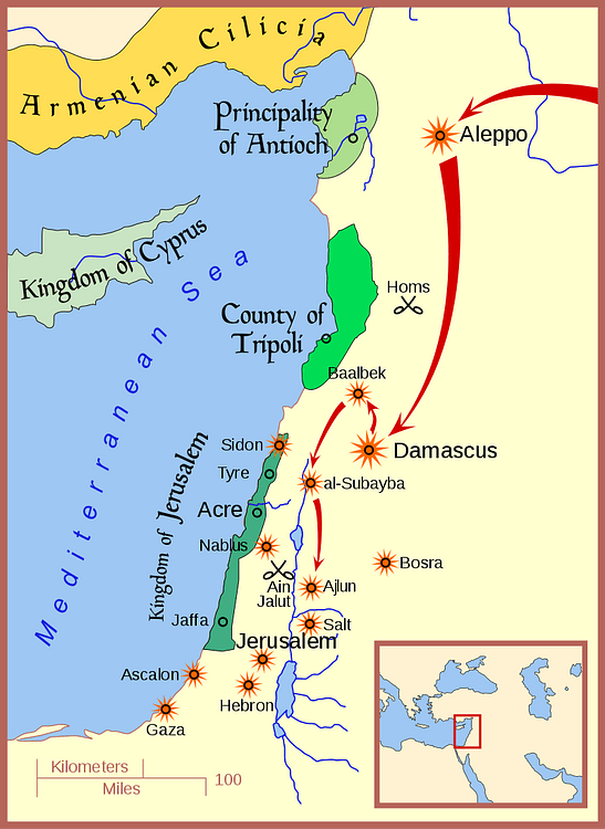 Conquest of Ayyubid Syria by Mongols