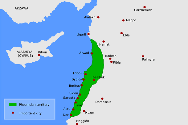 Canaan Ancient History Encyclopedia - Map of egypt in bible times
