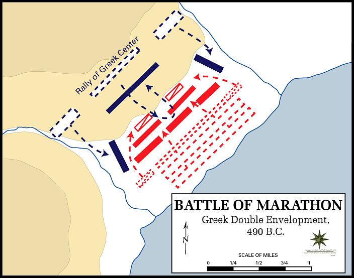 battle from marathon definition