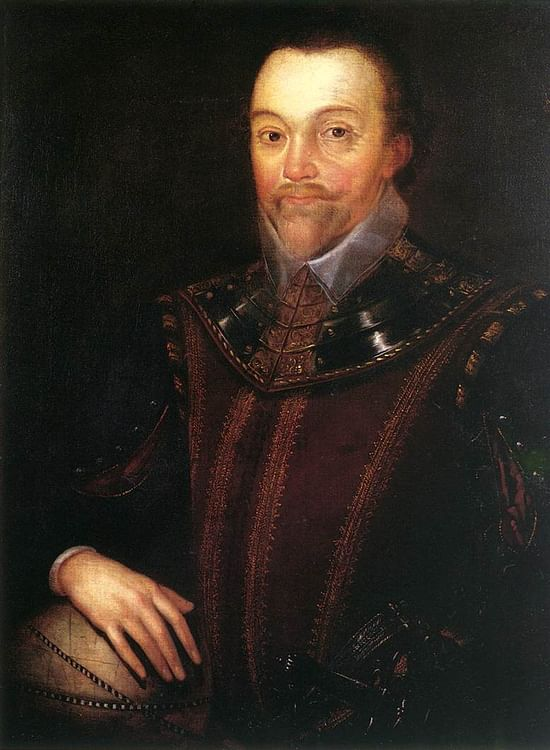 Francis Drake Portrait, Buckland Abbey