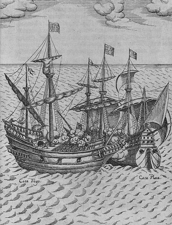 The Capture of Cacafuego by the Golden Hind