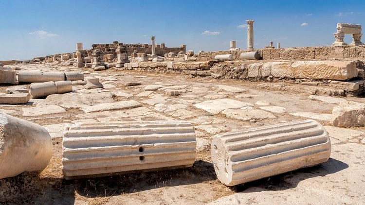 Ruins at Laodicea on the Lycus