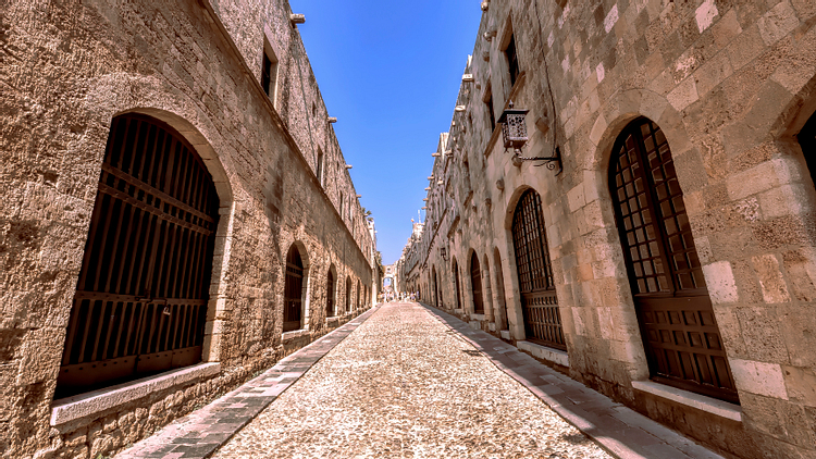 The Street of Knights, Rhodes