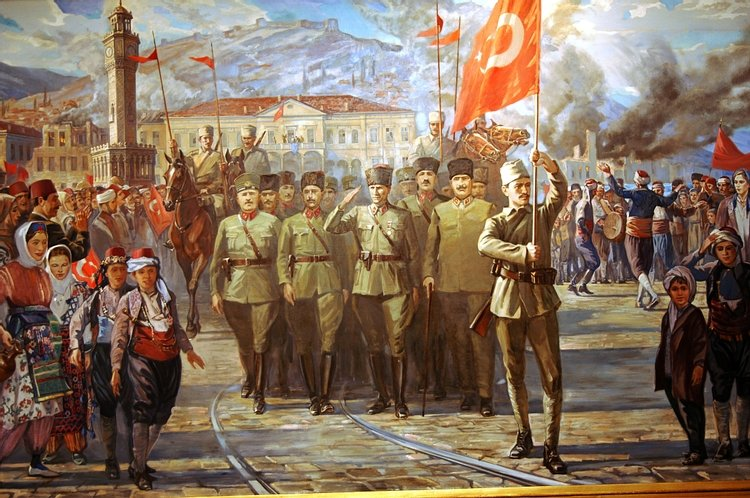 Conquest of Smyrna During the Turkish War of Independence