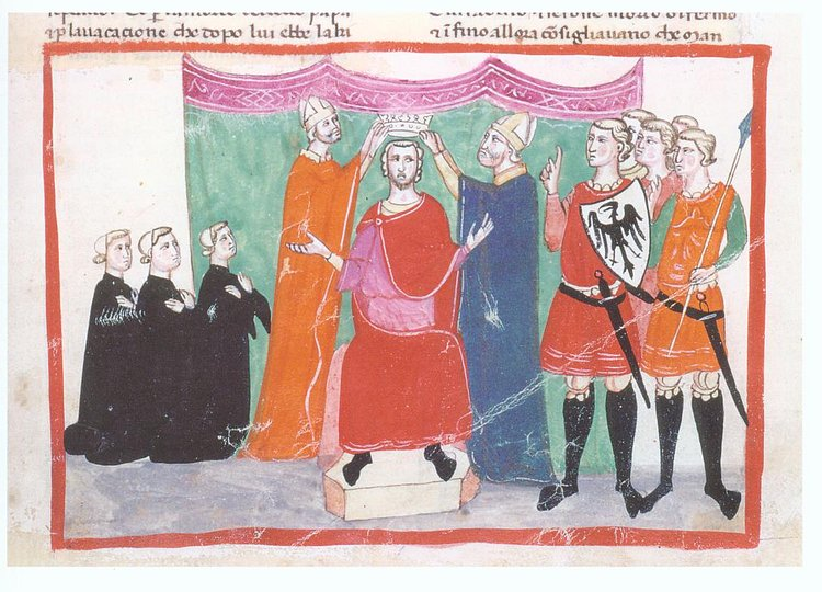 Coronation of Manfred