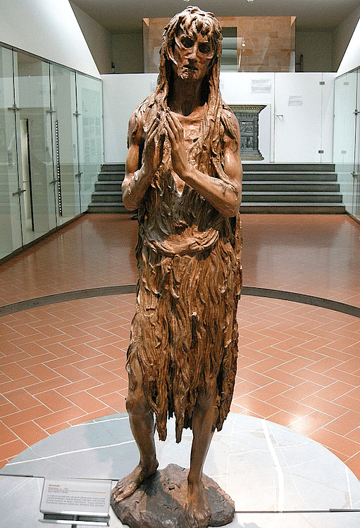 Mary Magdalene by Donatello
