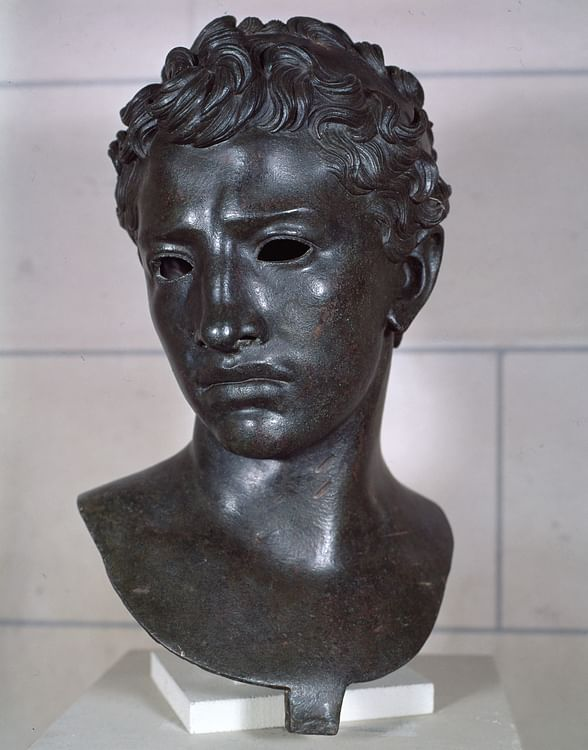 Bronze Bust of Juba II