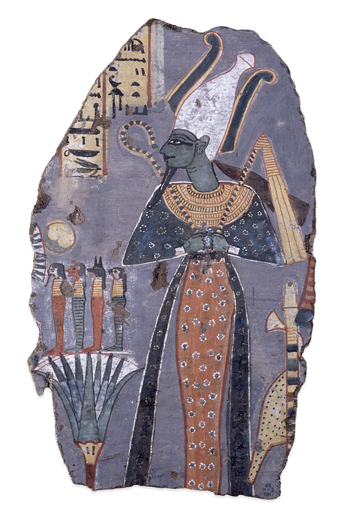 Tomb Painting of Osiris, Thebes