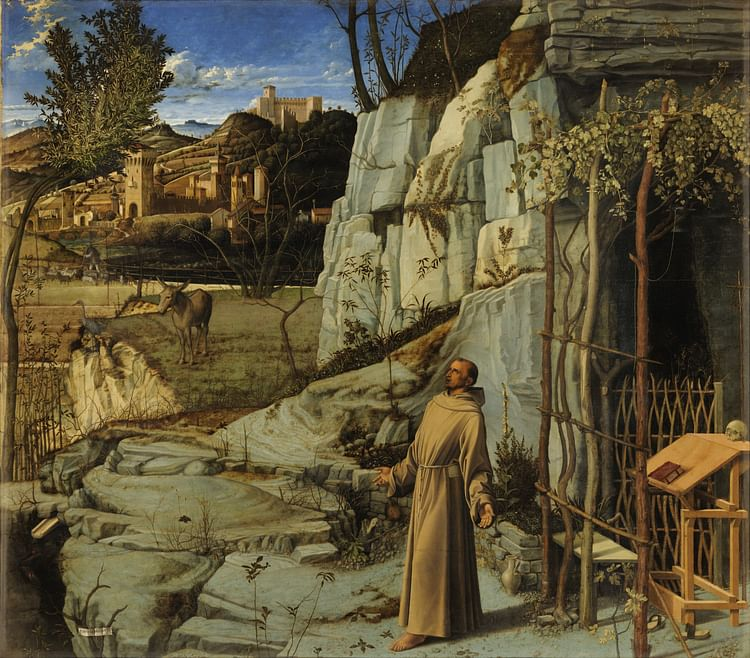 Ecstasy of Saint Francis by Giovanni Bellini