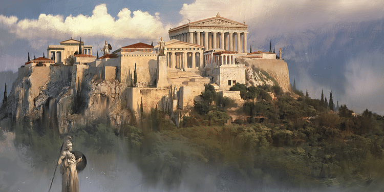 Acropolis in Athens (Artist's Impression)