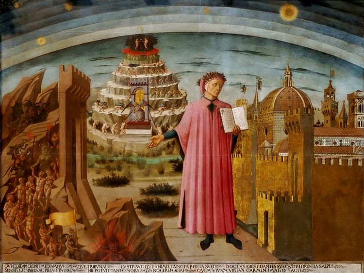Dante by Domenico di Michelino