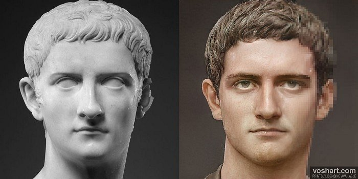 Caligula (Facial Reconstruction of Met Portrait)