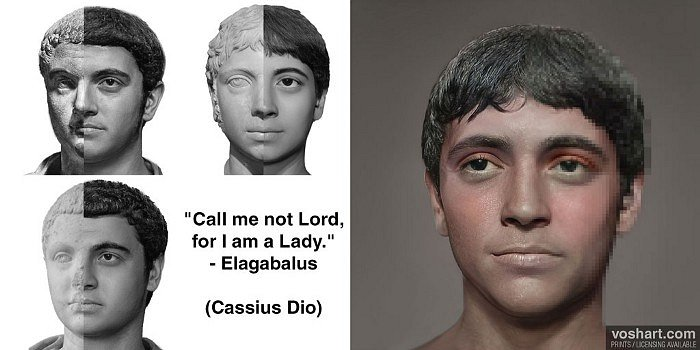 Elagabalus (Aged Facial Reconstruction)