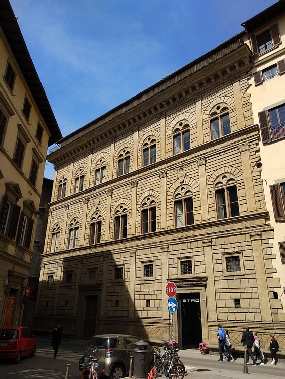 Palazzo Rucellai, Florence by Alberti