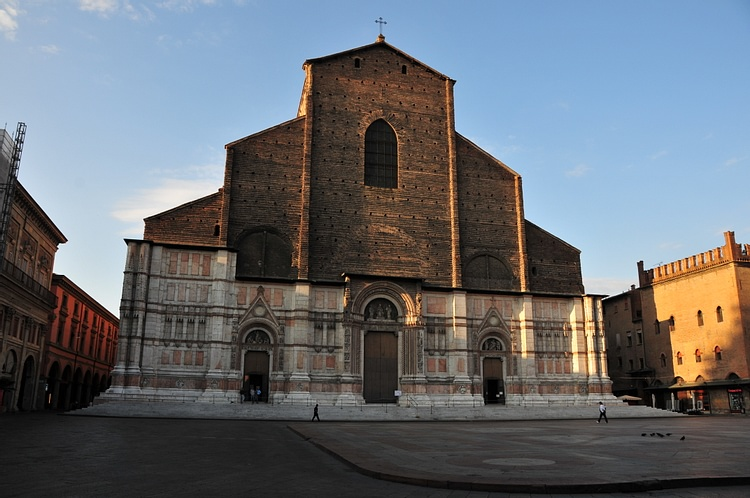 Facade of the Basilica San Petronio, Bologna