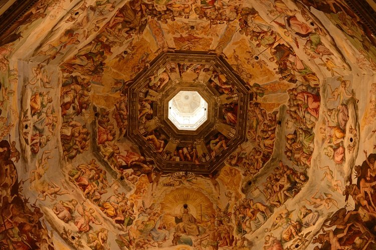 Ceiling of the Florence Cathedral