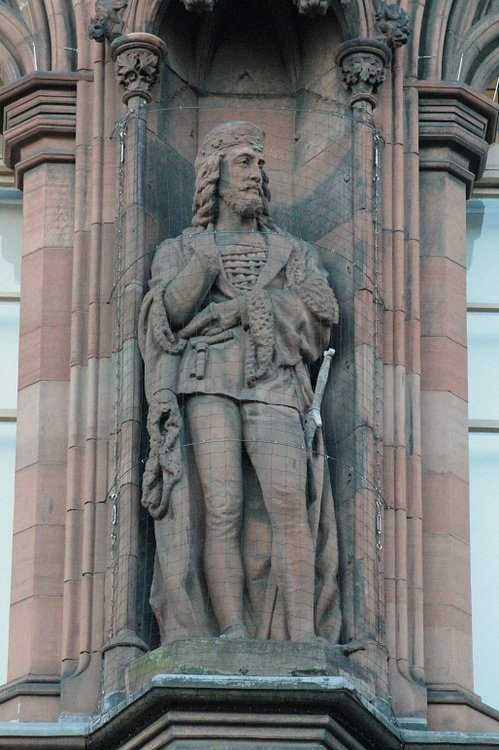 Statue of James I of Scotland
