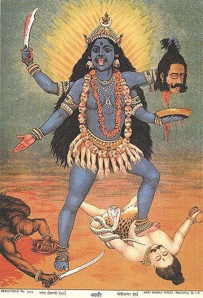 Kali Illustration Ancient History Encyclopedia