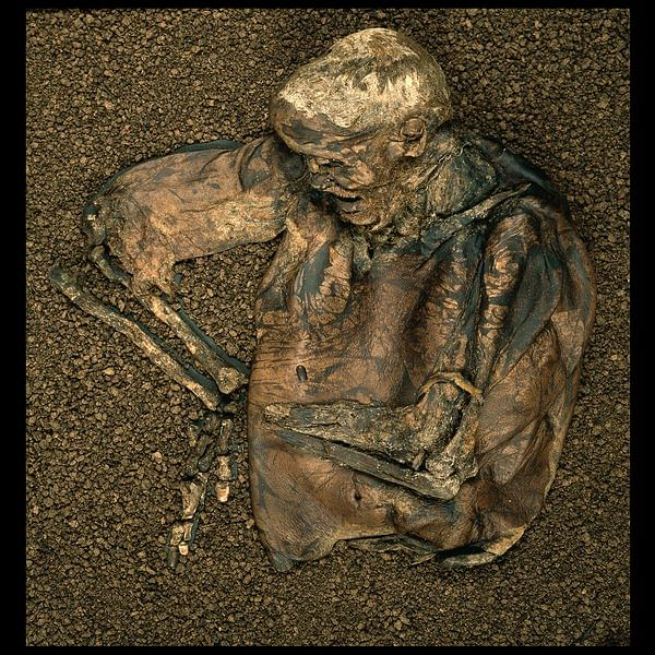 The Lindow Man (© Trustees of the British Museum - Republished under the British Museum Standard Terms of Use for non-profit educational purposes.)
