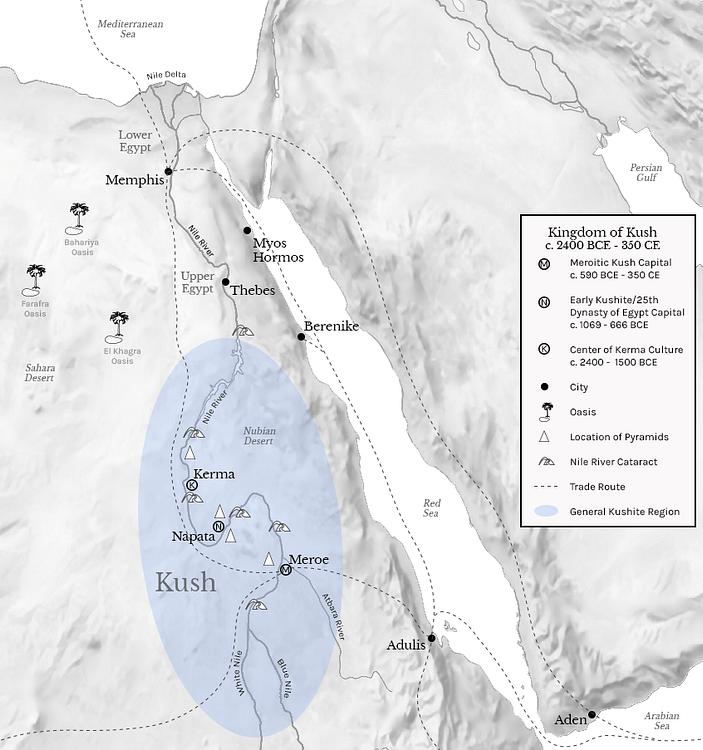 Kingdom of Kush (c. 2400 BCE - 350 CE)