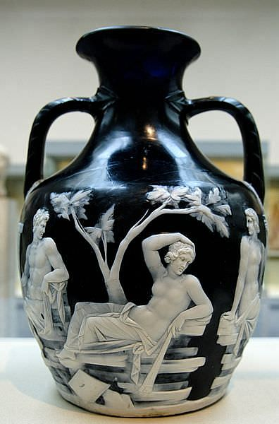 The Portland Vase Ancient History Encyclopedia