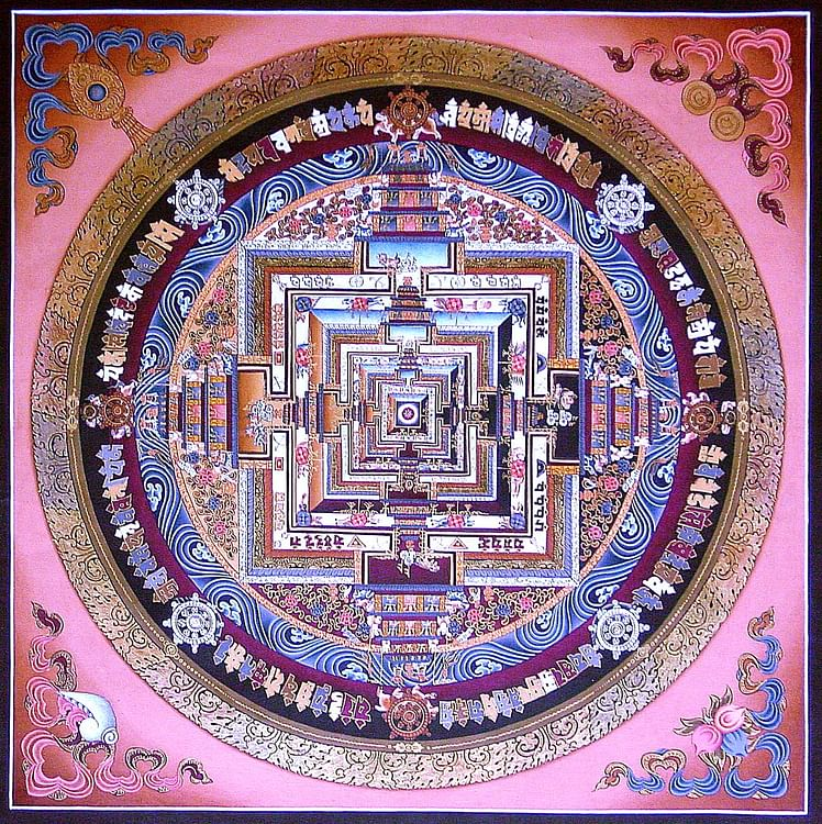 Mandala tibetano (Kosi Gramatikoff)