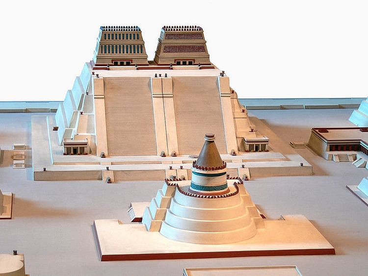 Prefeito do templo, Tenochtitlan (Wolfgang Sauber)
