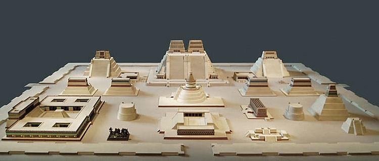 Precinto Sagrado, Tenochtitlan (Steve Cadman)
