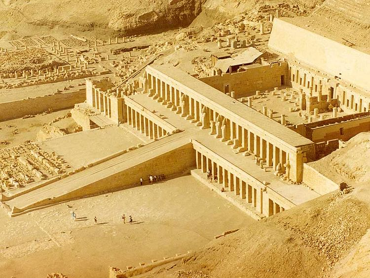 Temple of Hatshepsut, Aerial View