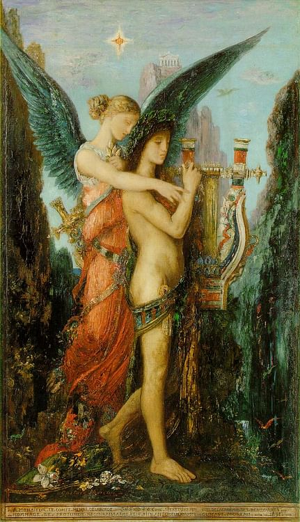 Hesiod and the Muse