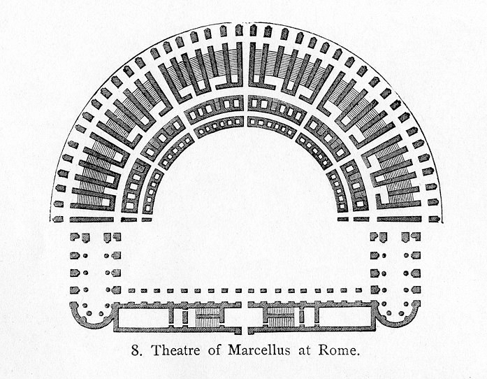 Floor Plan, Theatre of Marcellus