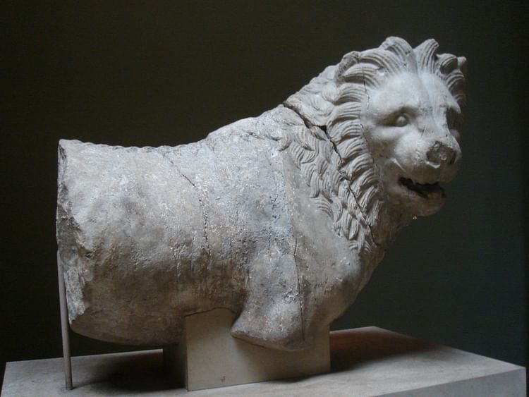 Lion from the Mausoleum at Halicarnassus