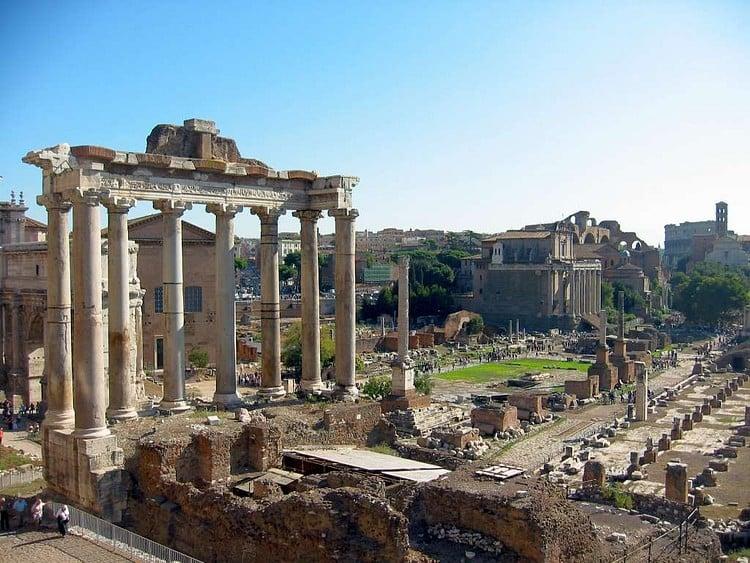 Templo de Saturno, Roma (Leo-seta)