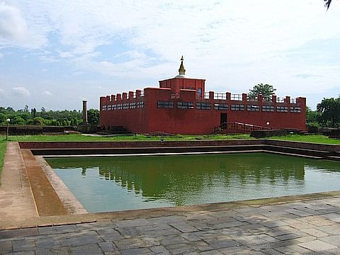 Maya Devi Temple & the Holy Pond