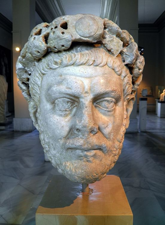 Roman Emperor Diocletian (Carole Raddato)