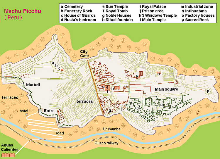 Map of Machu Picchu (Illustration) - Ancient History ... Machu Picchu Map on eiffel tower, angkor wat, cartagena map, chichen itza map, huayna picchu, lake titicaca map, latin america map, hoover dam, inca map, iguazu falls map, statue of liberty, angel falls map, inca empire, nazca lines, panama canal, palenque map, sacsayhuaman map, tikal map, andes mountains map, teotihuacán, teotihuacan map, south america, world map, chichen itza, hoover dam map, peru map, tiwanaku map, golden gate bridge, inca trail to machu picchu, cuzco map, cusco map, brooklyn bridge, angkor wat map, hagia sophia, south america map,