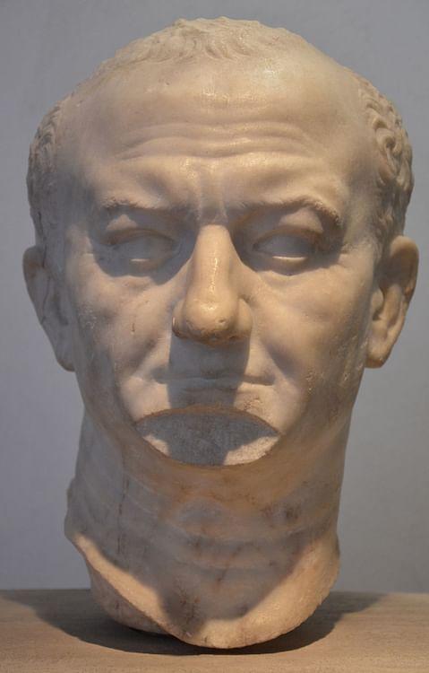 Imperador romano Vespasiano (Carole Raddato)