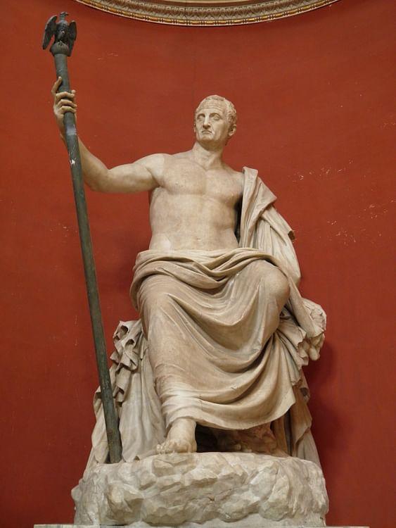Emperador romano Galba (Carole Raddato)